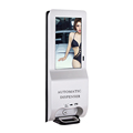 21.5 inch digital signage monitor Upload video or image file and Schedule Playlist from Server