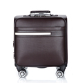 red color guangzhou suitcase luggage for promotion