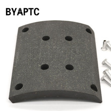 Heavy Duty Truck Brake Parts VL/88/1 Brake Lining Suit for Volvo