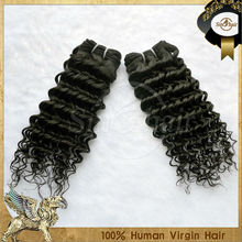 dyeable 6A wholesale full cuticle 100% virgin brazilian deep curl hair of factory price