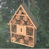 Wooden insect hotel, Handmade eco-friendly wooden insect house