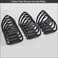 Free shipping! Equestrian supplies composite carbon fiber horse stirrups, full carbon fiber horse stirrups for horse equipment