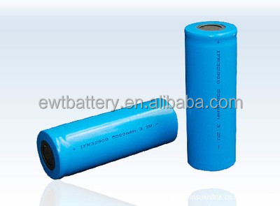 ifr32900 3.2v 4500mah lifepo4 cylindrical cells rechargeable battery 32900 4.5ah