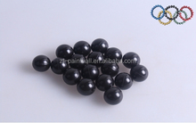 top quality black paitball for special competition