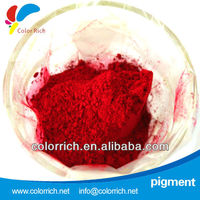 Coloring power Pigment red 21 used for paint and coating