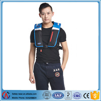 150N inflatable fashionable floating life jacket/rescue life vest