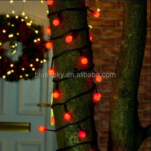 Large Berry Red Lighting Connecatable Green Cable Christmas Tree String Lights Fairy Lights