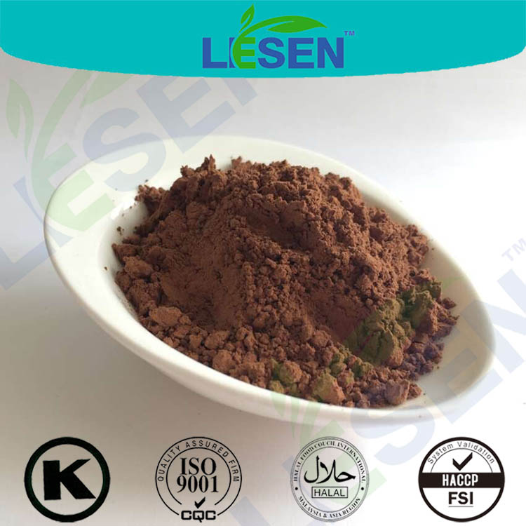 Natural low fat cocoa powder