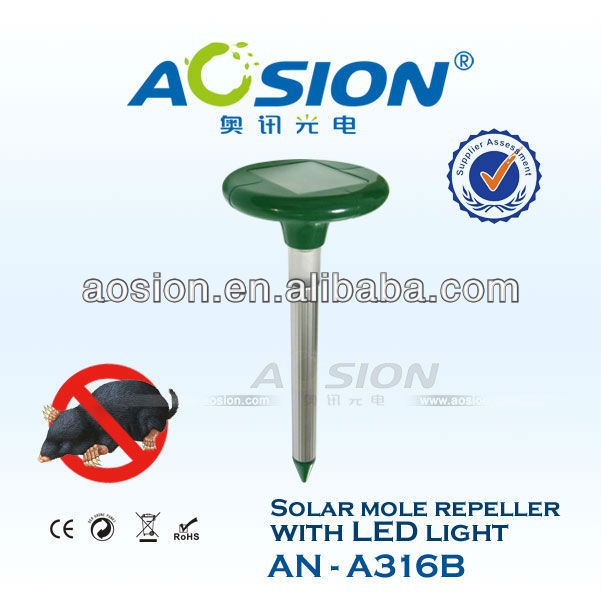 Advanced LED Light Solar Mole Removal rat trap AN-A316B