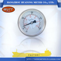Factory promotional bezel ring accuracy 1.6% or 2% wutt bimetal Thermometer For Fish Tank