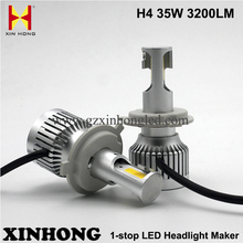 High brightness h4 a336 citroen c4 led car headlight with excellent light pattern auto waterproof crees led h4