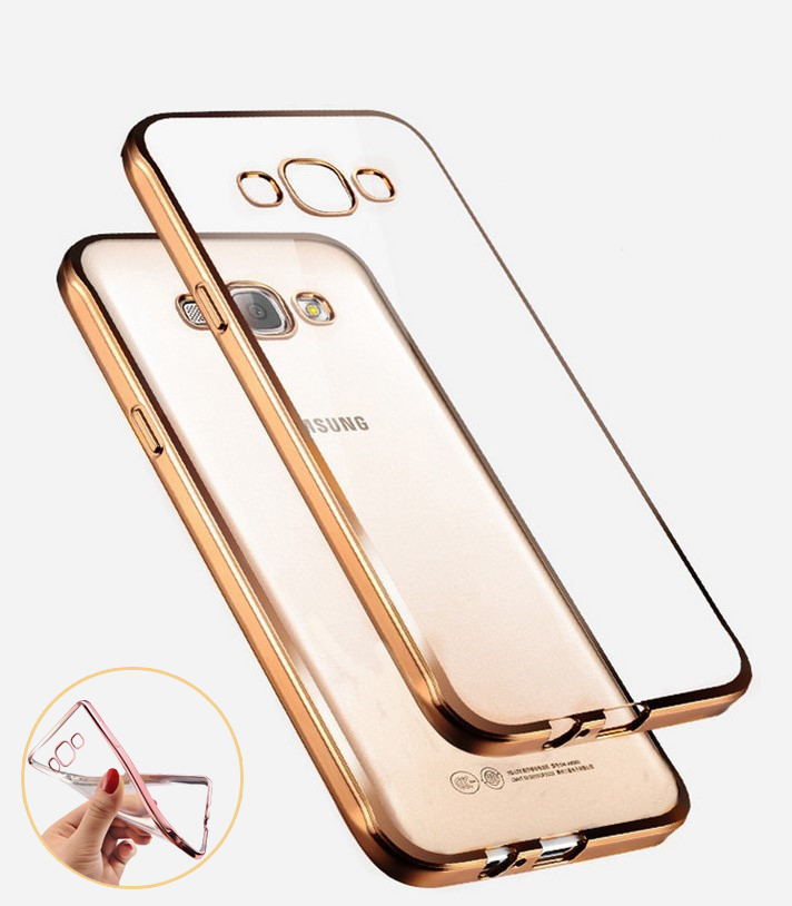 Case for Samsung Galay J5 J7 2015 A3 A5 A7 2016 Grand Prime S5 S6 S7 Edge Fashion Luury High Quality Plating Design Cover