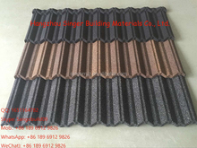 Environmental building materials heat resistant stone chips coated aluminum zinc sheets Solar Panel Terracotta Solar Roof Tiles