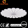 new arrival acrylic round chandeliers led ceiling light Big power 160W ceiling pendant lamp for indoor room