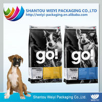 25kg customized printed dog food plastic bag with zipper
