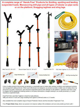 Hands Free Oilfield Safety Tools