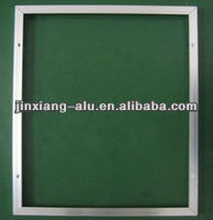 6063 good quality extruded aluminium profilefor soalr panel