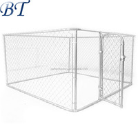 China supplier ISO outdoor chain link dog kennel / dog cages / pet enclosure.