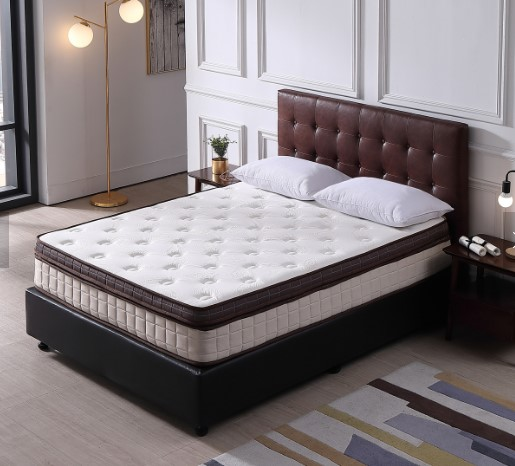 Hotel Mattress with Cool gel Memory Foam Pillow Top/Pocket Spring Bedroom furniture Bed Mattresses - Jozy Mattress | Jozy.net