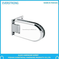 Everstrong glass hardware ST-A050 bevel90 degree L shape wall to glass shower door hinge