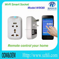 UK/EU/AU/US standard wifi socket switch