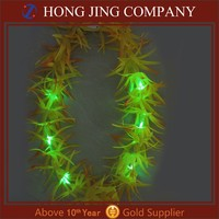 Artificial Leis Flowers With Led Lights