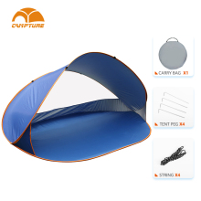 custom beach tent wholesale outdoor folding shelter tent quick set up automatic Pop Up Sun Shade Tent