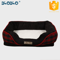 Wholesale warm royal dog bed oop pet dog cat teepee tent bed