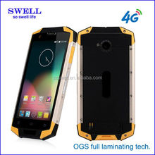 4G fdd Band phone X9 OGS touch screen mobile ruggedized transparente del telefono celular