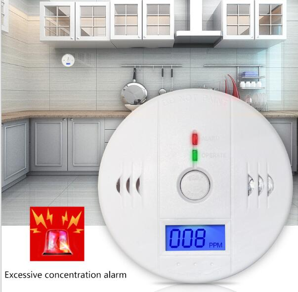 LCD display co2 detector and co2 alarm / CO Carbon Monoxide Detector Tester