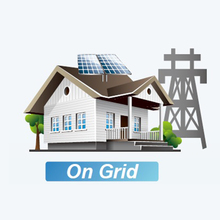 10 Kw 220 Volt On Grid Tie Home Solar Power System