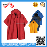 Raincoats Type and Polyester Material Recycle Cheap PVC Rain Poncho