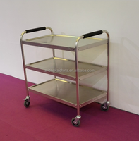 Commercial Stainless Steel Kitchen Food Trolley Cart