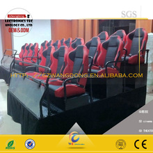 high quality lowest budget for 6 persons hydraulic electric cinema 5d