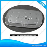 2011-2013 Plastic Auto Body Parts Chrome Gas door Cover FOR Grand Cherokee Manufacturer Supply Made In China