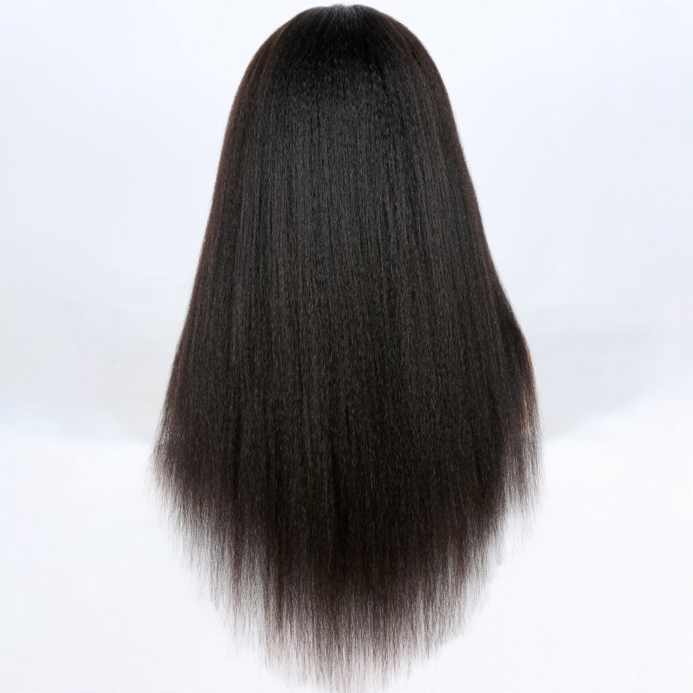 Wholesale Price Alibaba Virgin Unprocessed Malaysian kinky Straight Lace Front Wigs Human Hair Full Lace Wig for black women
