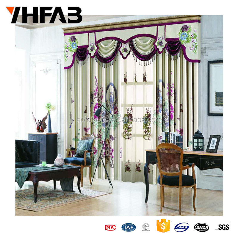 Living Room Curtains/Beautiful Curtains/Curtain for Sitting Room