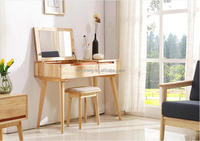 Bed room living stand simple & modern fashion Northern Europe style dressing table cabinet