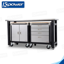 New design high quality garage steel tool workbench
