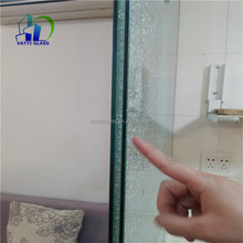 decorative laminated glass bathroom window glass ice cracked window glass factory
