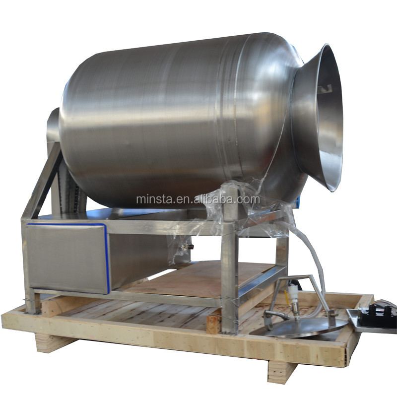 Fully automatic national vacuum tumbler meat process machine