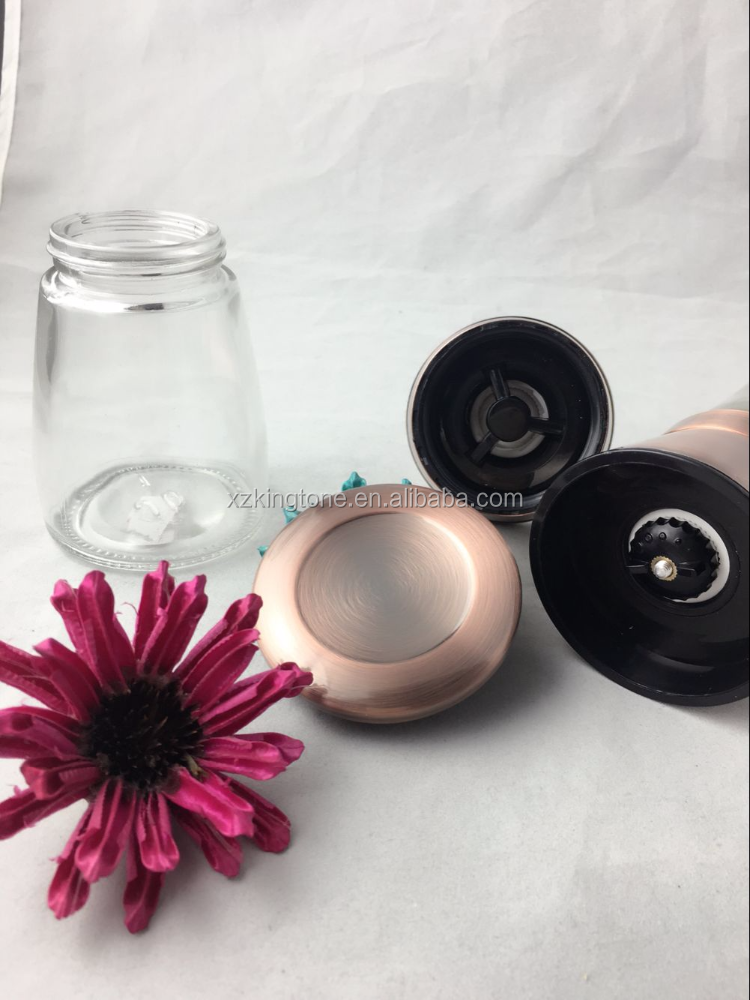 Manual Copper Stainless Steel Salt and Pepper grinder