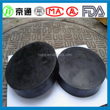 Highway and railway bridge plate rubber bearing