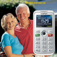 New discount hearing aid sos cell phone for senior