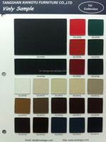 Leatherette pvc leather fabric for upholster