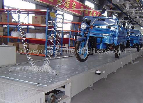 motorcycle assembly line and tricycle assembly line