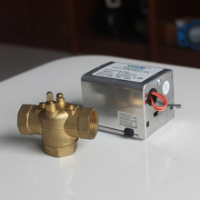 "3/4"" 3-way 230VAC motorized diverting valve for FCU CHILLED WATER"