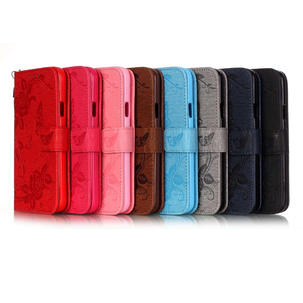 New phone accessories case for LG phone case with holder wallet function for K7 fur phone case for LG K7