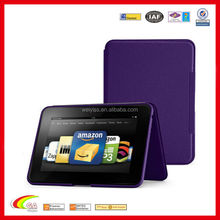 "Leather standing case for kindle fire 8.9"" purple color, Case for kindle fire china manufacturers & suppliers"