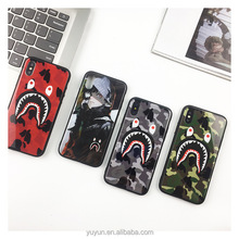 Hot Sale Shark face Shark Army Phone Case Cover for iphone x